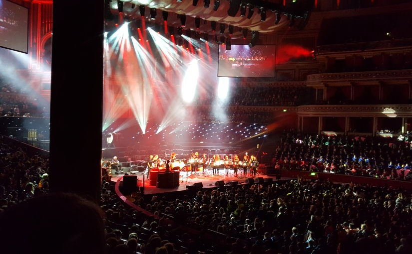 14th Oct, 2018 – the Royal Albert Hall